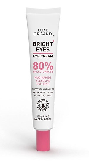 Luxe Organix Bright Eyes Eye Cream 80% Galactomyces