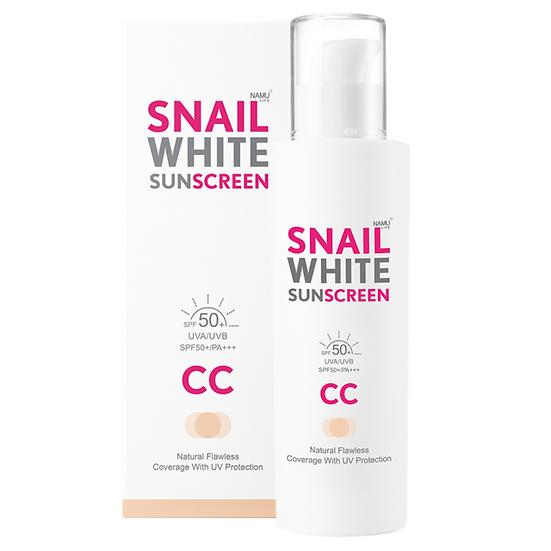 Snail White Sunscreen CC Cream UV Protection SPF 50