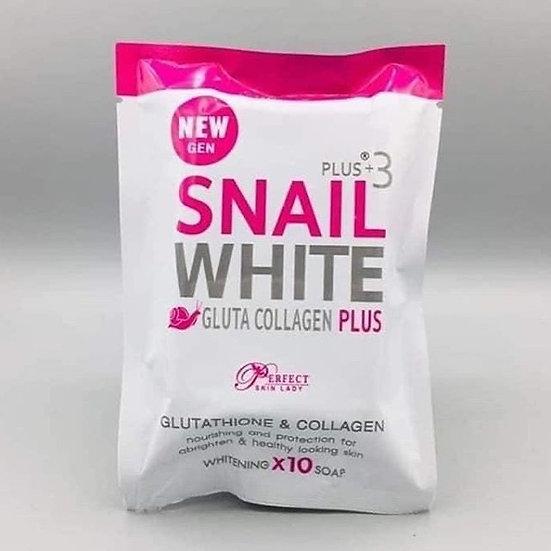 Snail White Gluta Collagen plus Soap