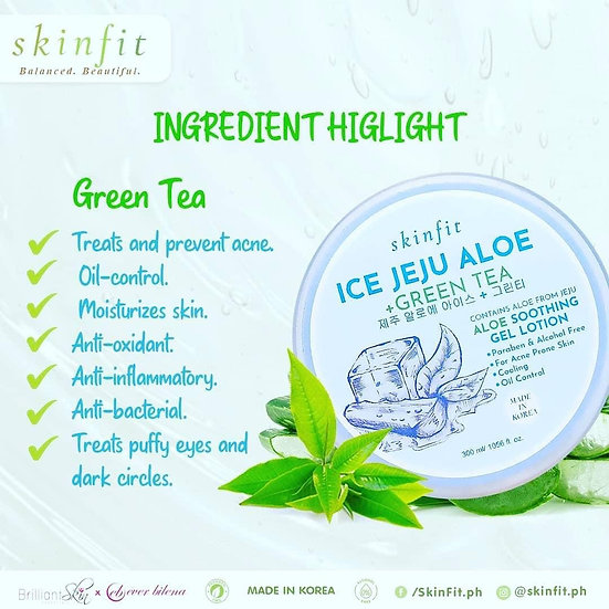 Skinfit Soothing Gel in Jeju ice