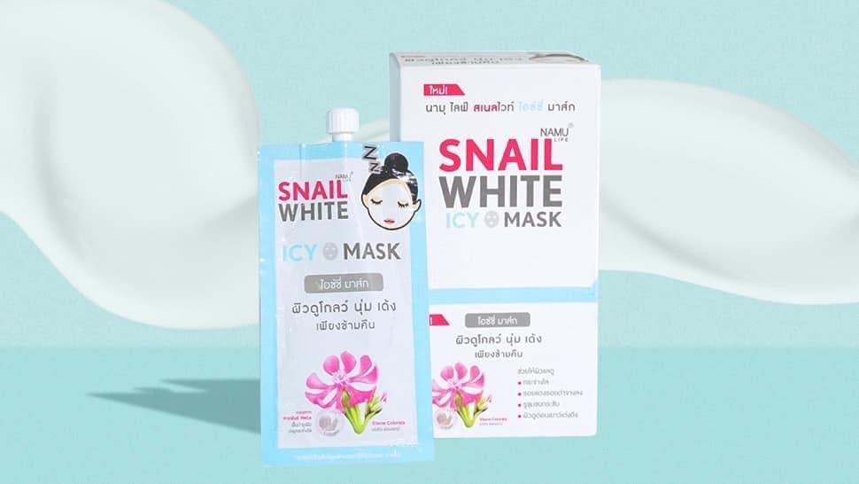 Namu Snail White Icy mask