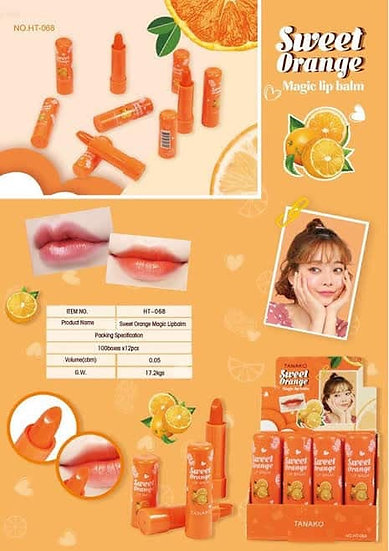 Tanako Sweet Orange Lipbalm