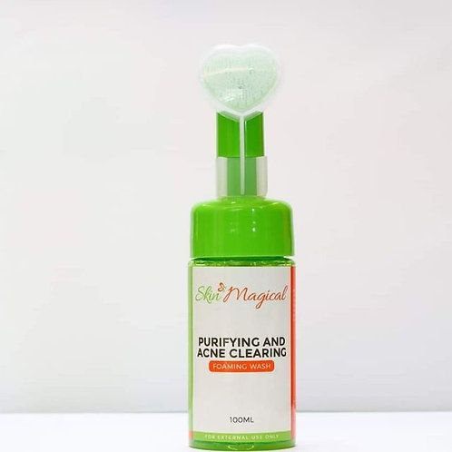 Skin Magical Purifying and Acne Clearing Foaming Wash (100ml)