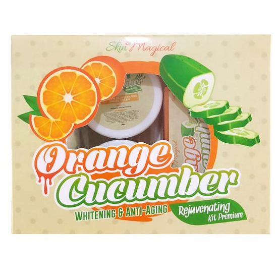 Skin Magical Orange Cucumber Rejuvenating Kit Premium
