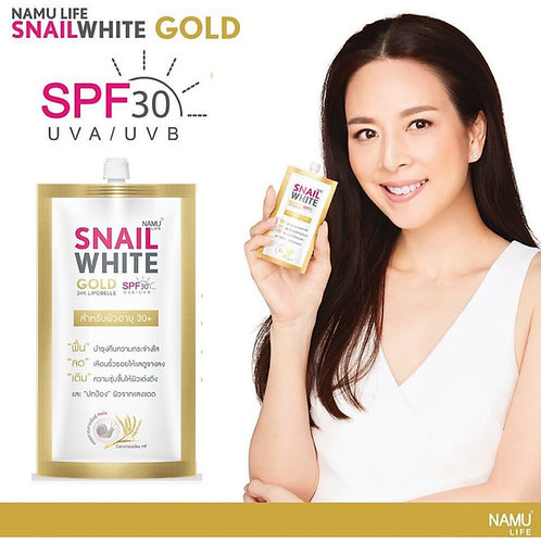 Namu Life Snailwhite Gold SPF30/PA+++ Cream Sachet