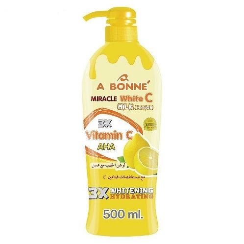 A bonne Miracle White C milk lotion