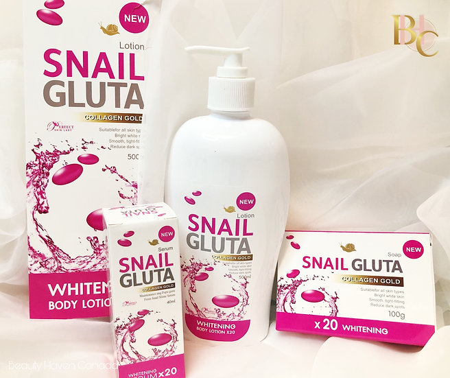 Snail Gluta Set