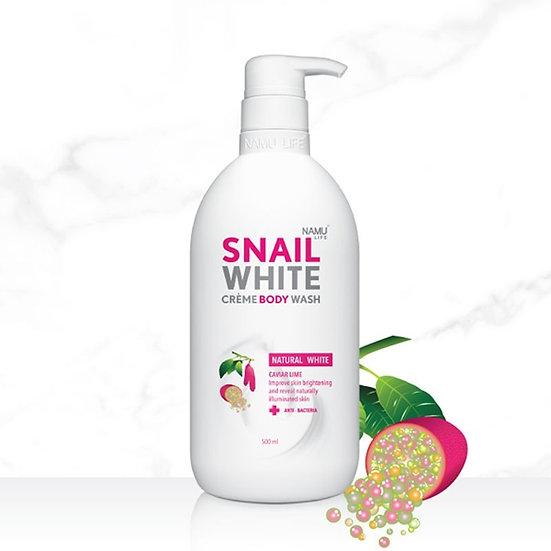 Snail White Creme Body Wash - Natural White