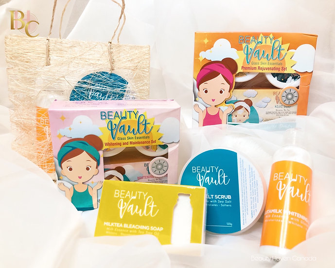 Beauty Vault Face and Body Set