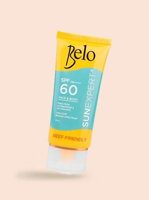 Belo SPF PA +++ Face & Body Reef-Friendly Sunscreen