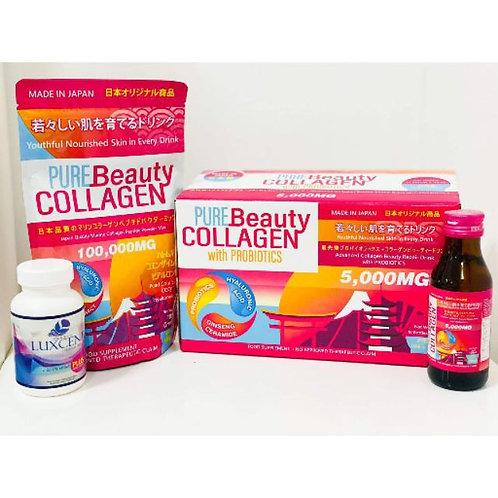 Pure Beauty Collagen + Luxcent TRIO