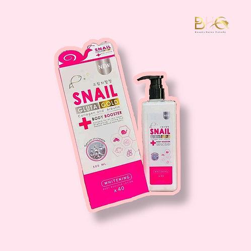 Snail Gluta Gold Plus Collagen and Arbutin Body Booster