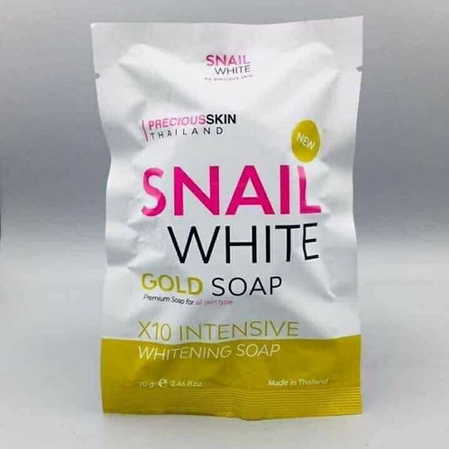 Snail White GOLD Soap x10 Intensive Whitening