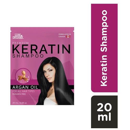 Luxe Organix Premium Keratin Shampoo Argan 20 ml