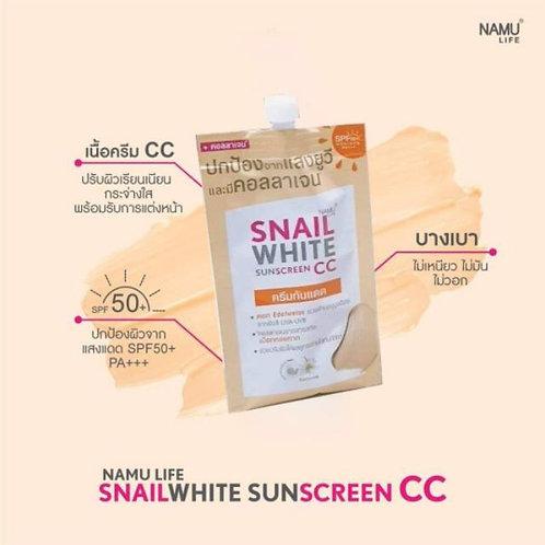 Namu Life Snail White CC Sunscreen Sachet