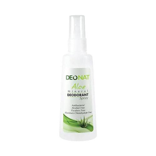 Deonat Aloe Mineral Deodorant Spray 100 Ml