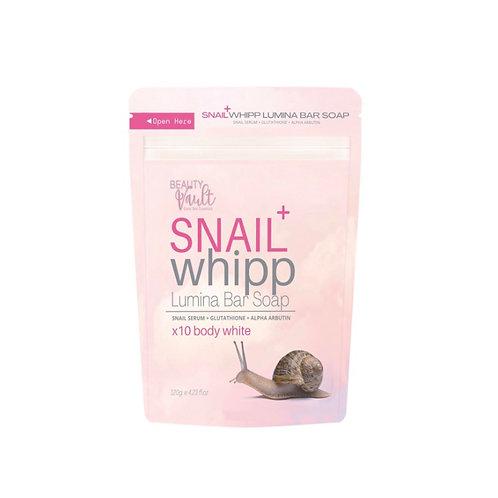 Beauty Vault Snail Whipp Lumina Bar Soap