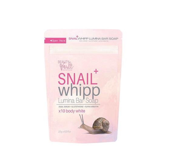 (NEW) Beauty Vault Snail Whipp Lumina Bar Soap
