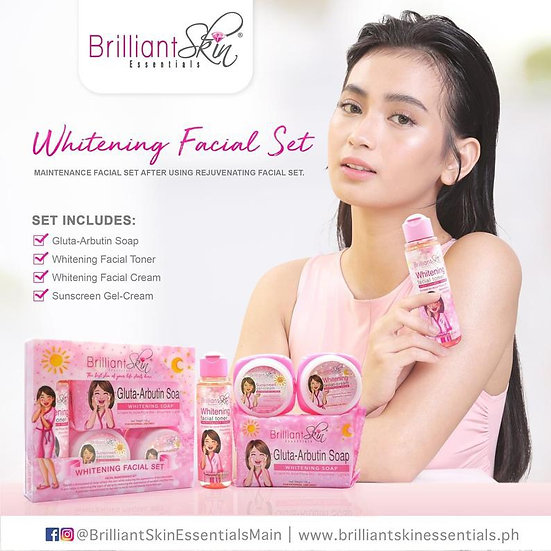 Brilliant Skin Essentials Whitening Facial Set