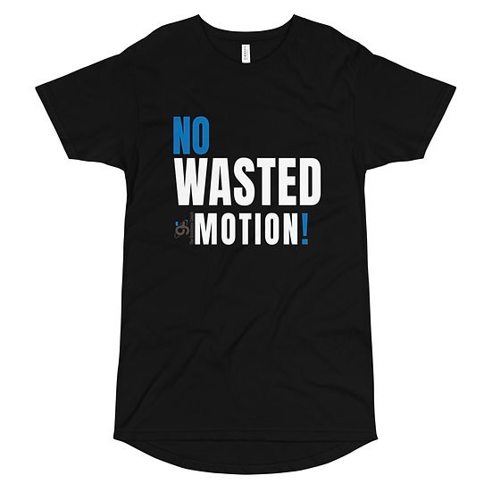 Long Body Urban Tee (No Wasted Motion)