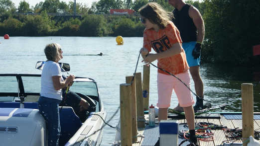 Helping Hand at our 2019 Waterski Slalom Competiton