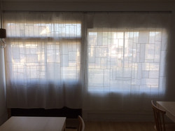 patchwork curtain for Blink