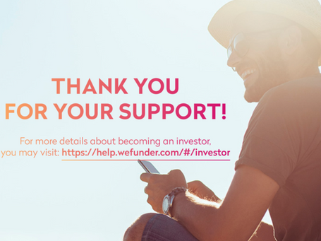 MESSAGE TO ALL OF OUR INVESTORS