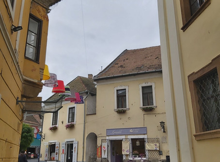 Szentendre, a little but very colourful town