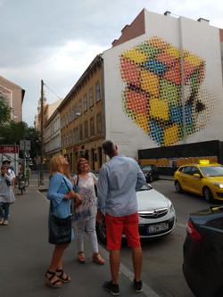 Rumbach utca, Rubik kocka