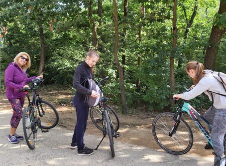 Bike tour around Lake Velence after lockdown