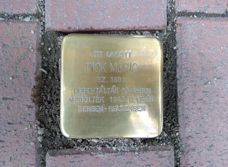 Hidden Holocaust Memorials in Budapest  - The Stolpersteine