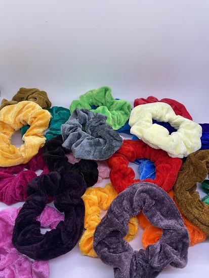 Multi - Color Scrunchies