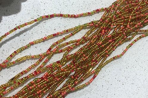 Hand made African waist beads  (Toma)