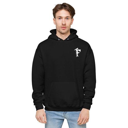 Unisex fleece hoodie-Puppets