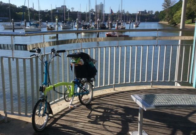 The Bicycle Pedlar - Brompton