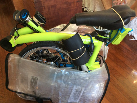 Packing a Brompton for travelling