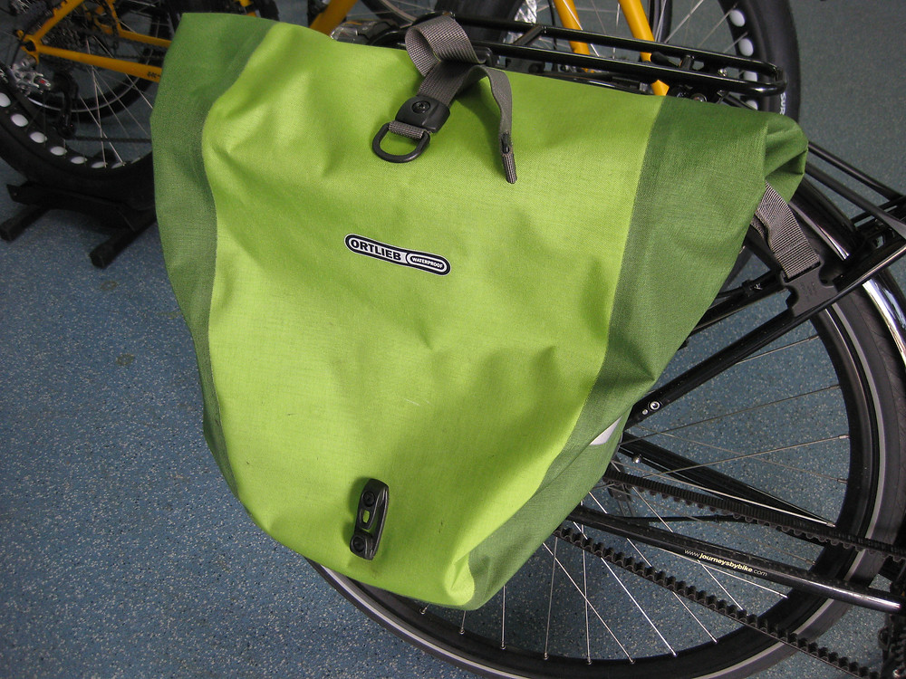The Bicycle Pedlar - Ortlieb panniers