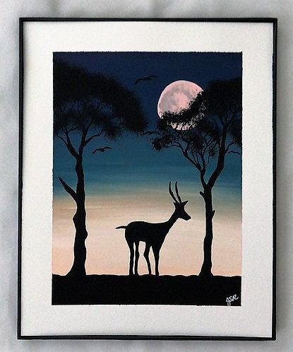 African Night Fall