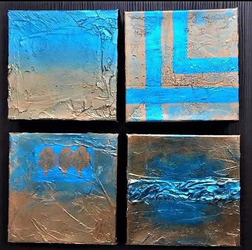 Metallic Abstract