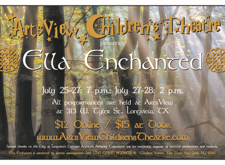 Ella Enchanted - The Musical Cast List