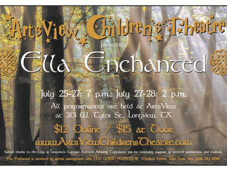 Ella Enchanted - The Musical Cast List