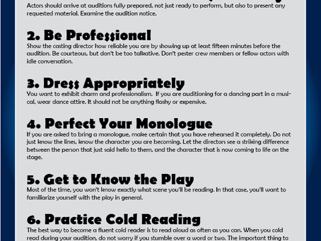 The Best Audition Tips