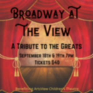 Broadway at the View 2020 Logo Designs (