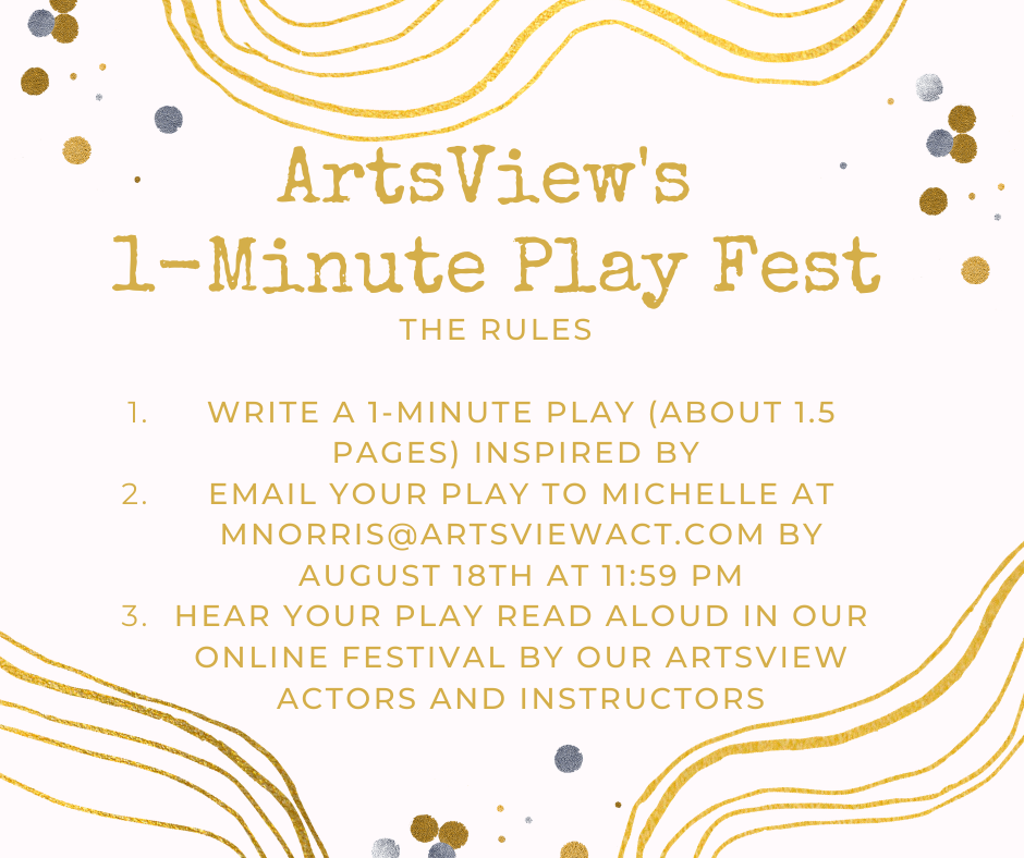 ArtsView's 1-Minute Play Fest (1)