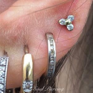 4th Lobe Piercing