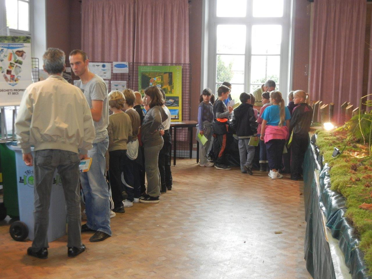 Exposition à la mairie d'Asnières