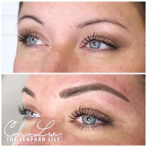 Microblading Before After 9 Powder Brow.