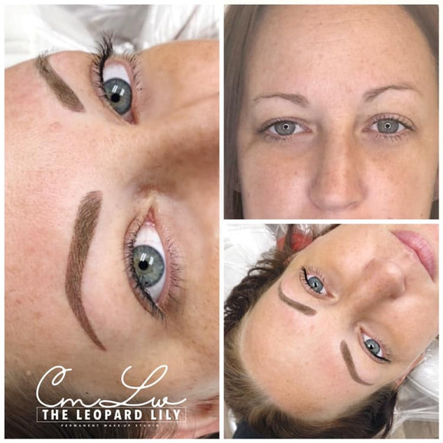Microblading Before After 6 Powder Brow.