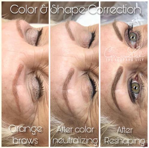 Permanent Makeup Correction Removal Eyeb
