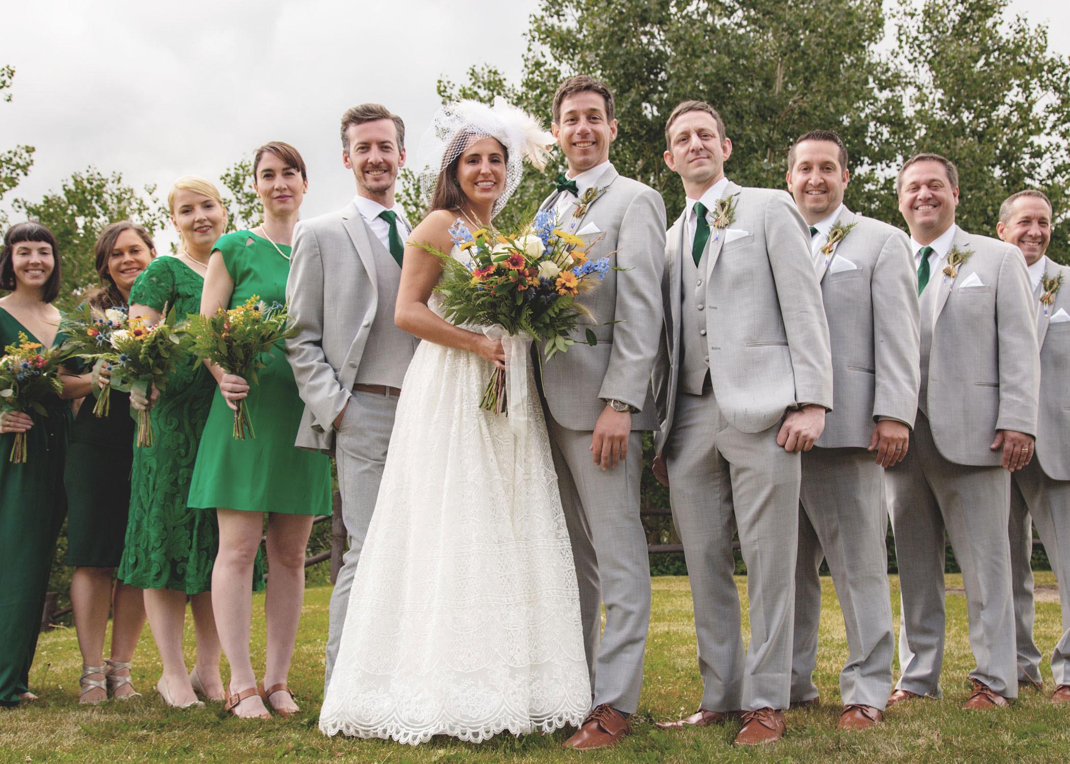 East Glacier Park Wedding